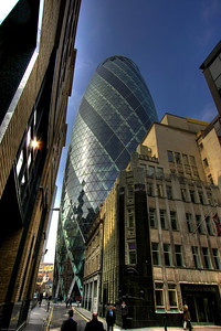 The Swiss Re tower, London