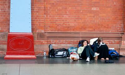 St Pancras - waiting