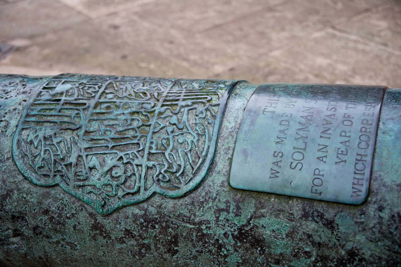 Canon detail - Tower of London