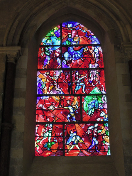 Chichester Cathedral: M Chagall window