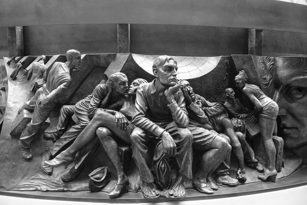Paul  Day sculpture