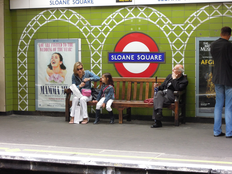 London: Sloane Sq Station