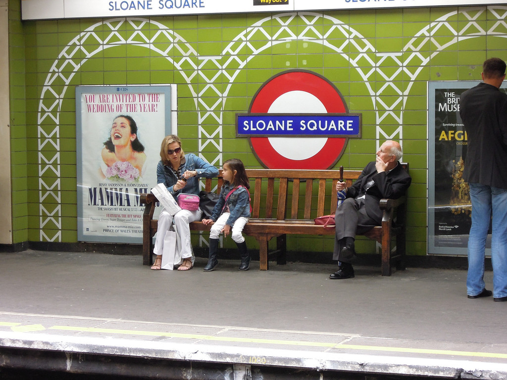 London: Sloane Sq Station