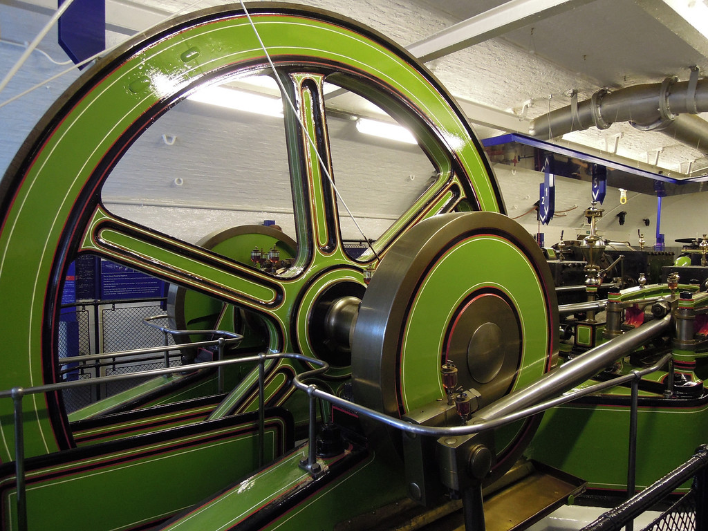 London: Redundant Tower Bridge machinery