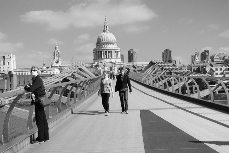 On Millenium Bridge