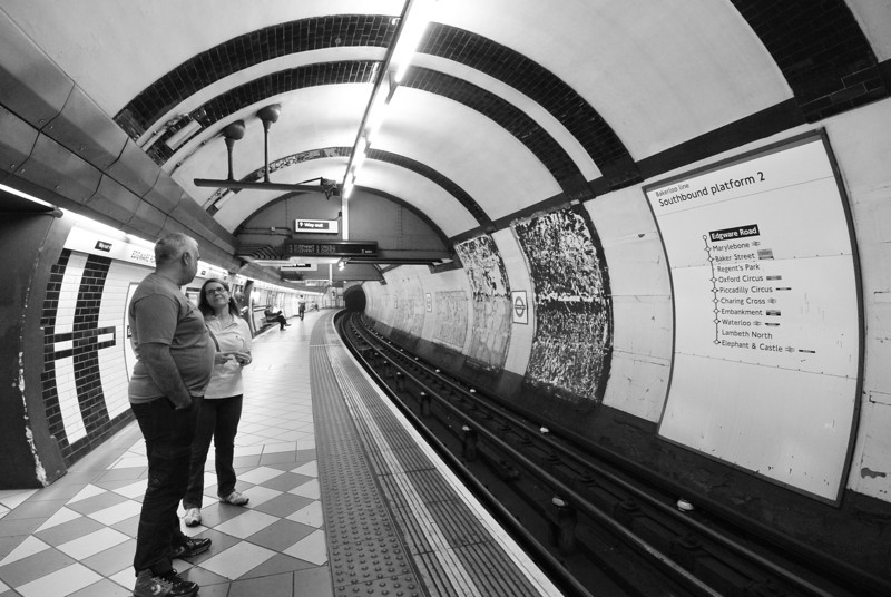 London: The Tube is a tube, 2013