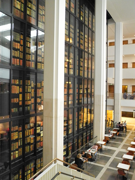 London: Kings Library, enclosed inside the British Library