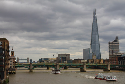 Southwark Bridge and the Shard