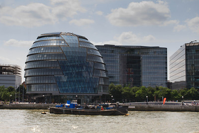 London City Hall from the Thames