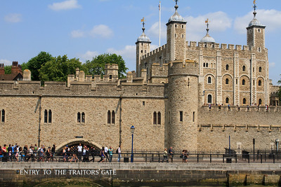 Entry to the Traitor's Gate
