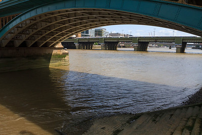 Under Southwark Bridge