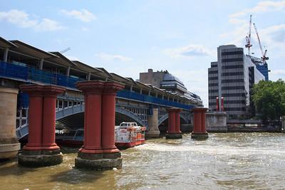 Blackfriars Bridge from the Thames
