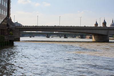 London Bridges from Bankside