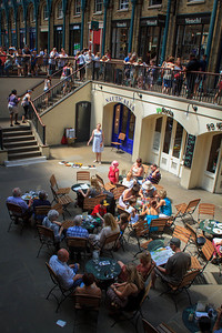 Singing in the Lower  Courtyard