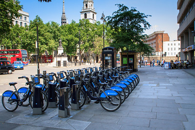 Cycle Hire in the Strand