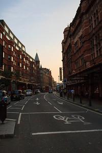 Evening On Shaftsbury Avenue