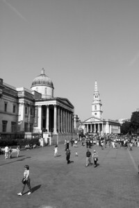The National Gallery and St-Martin's-In-The-Fields
