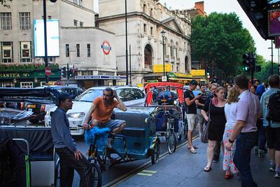 Pedi-Cabs, Charing Cross Road