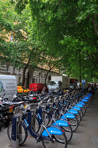 Cycle Hire on Northumberland Ave