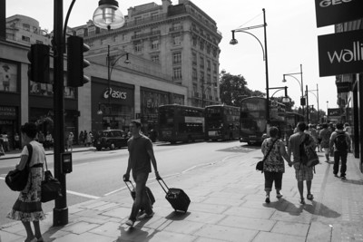 Rolling Luggage, Oxford Street