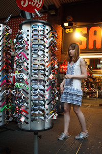 Shopping for Shades, Charing Cross Road