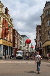 Shaftsbury Avenue and Chinatown