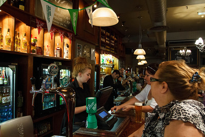 The Bar at the City of Quebec