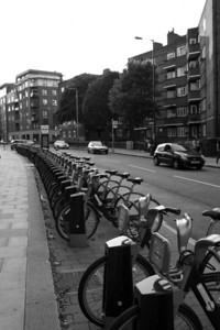 Cycle Hire Station on Long Lane
