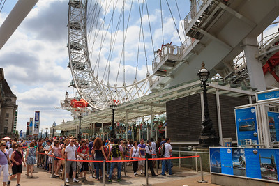 Line-Up for the London Eye