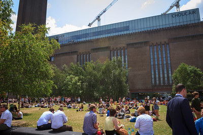 The Lawn at the Tate Modern