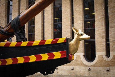 The Golden Hinde Figurehead