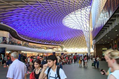 Inside Kings Cross Station
