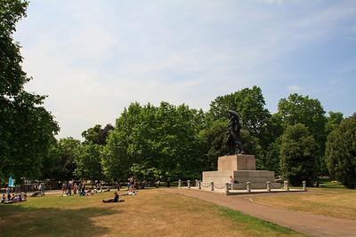 The Achilles Statue, Hyde Park