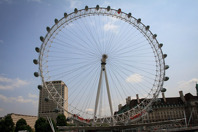 The London Eye from the Thames