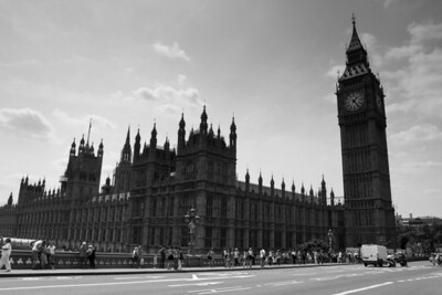 The Houses of Parliament and the Tower of Big Ben