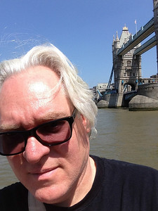 Gary at the Tower Bridge