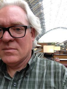 Gary at St Pancras