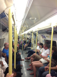 Sunday Afternoon on the Northern Line