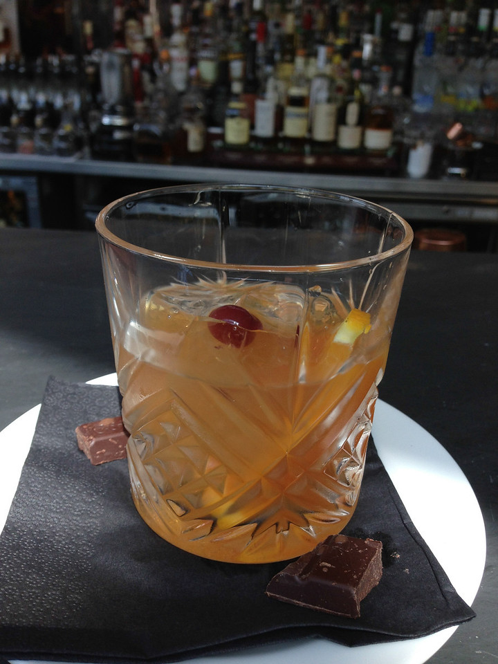 The Sumptuous Old Fashioned with 17-Year-Old Hiriki Whiskey