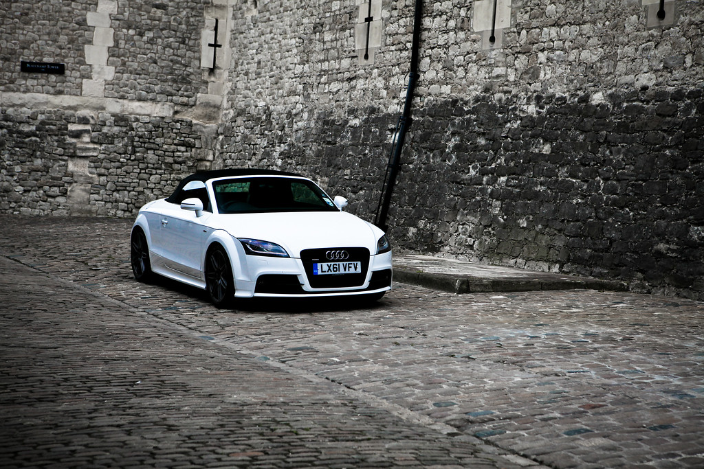 Lucky Audi, Tower of London<br /> London UK June 2013<br /> Canon 5DMkII + 24-70 2.8L