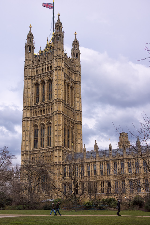 Tower on the Houses of Parliament