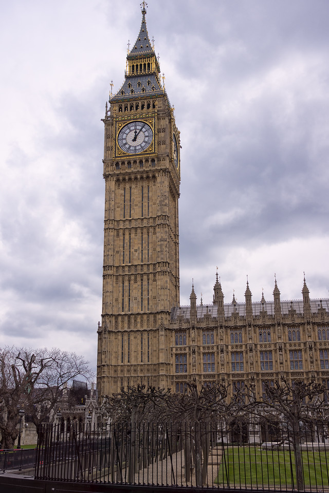 Clock tower with Big Ben