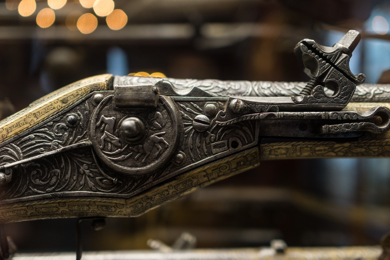 Gun in the Wallace Collection