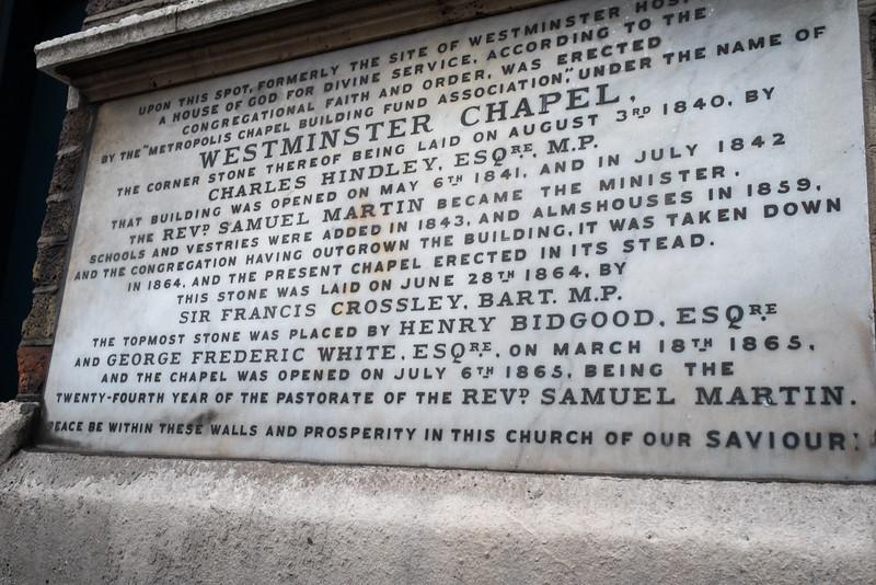 Westminster Chapel, Buckingham Gate