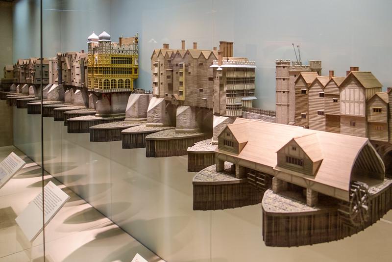 London Bridge model, many eras represented