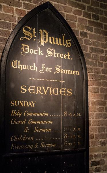 Signboard ca. 1850