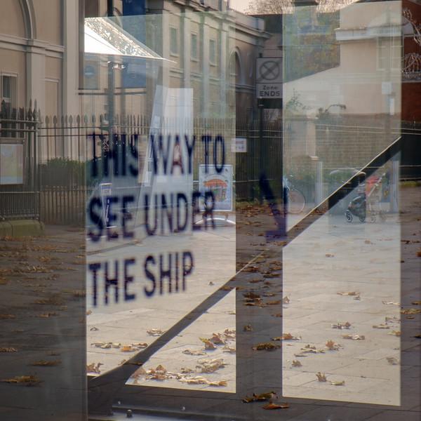 Entry to Cutty Sark exhibit