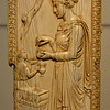 The Symmachi Panel, ivory, unknown maker, Rome, Italy, about 400 AD at Victoria & Albert Museum