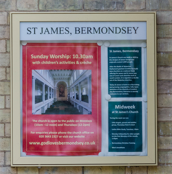 St James Bermondsey