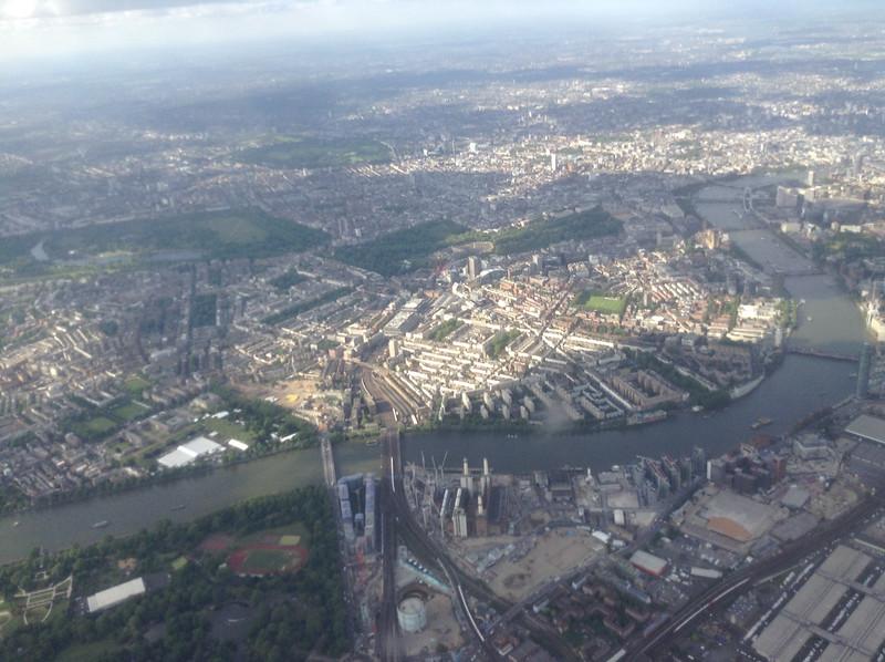 Hyde Park, Green Park, St James Park, London Eye & bridges